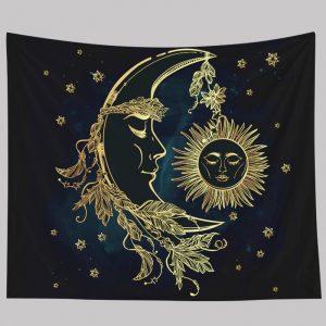 Custom night Star Wall flag