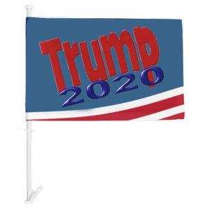 Custom trump car window flag